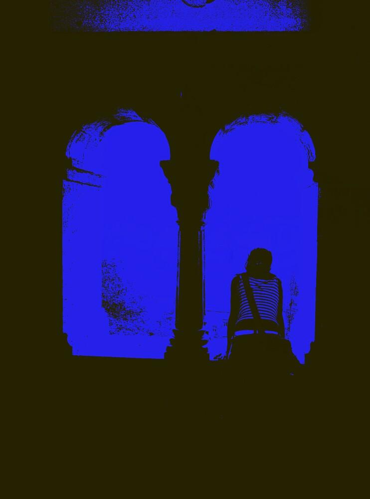 Viewfinder Blue by ragman
