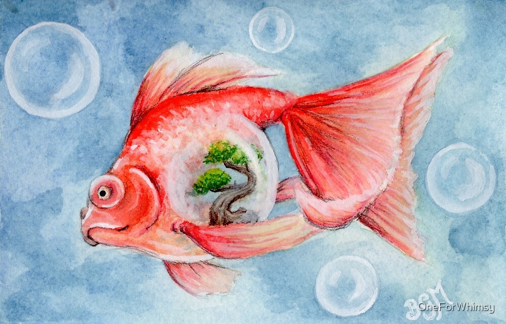 Bonsai Fish by OneForWhimsy