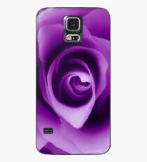Purple Rose Case/Skin for Samsung Galaxy