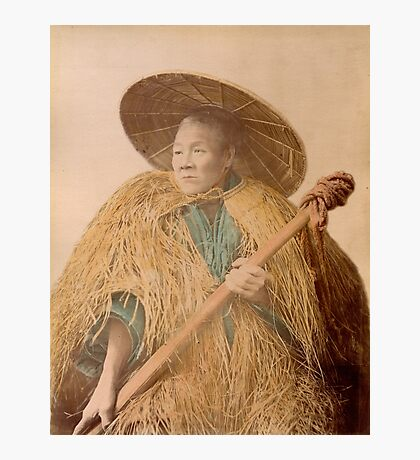 Meiji Coolie, Japan Photographic Print