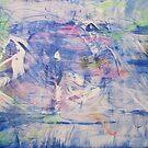 The Blue Distance, Original Abstract  by Dmitri Matkovsky
