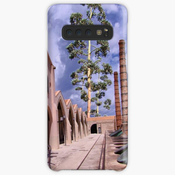 in the manner of De Chirico Samsung Galaxy Snap Case