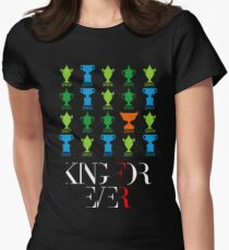 King Roger forever 2018 Women's Fitted T-Shirt
