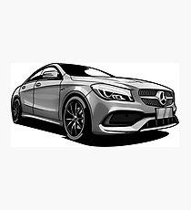 Mercedes Benz CLA Photographic Print