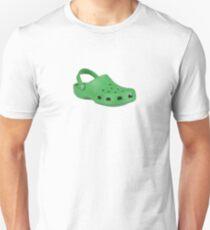 Green Crocs Unisex T-Shirt