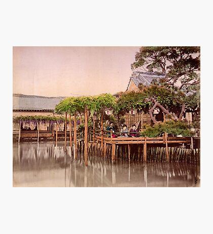 Kameido Tenjin Shrine, Tokyo, Japan Photographic Print