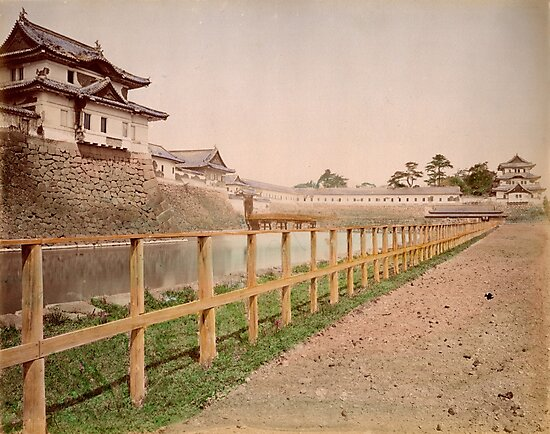 Imperial Palace, Japan by Fletchsan