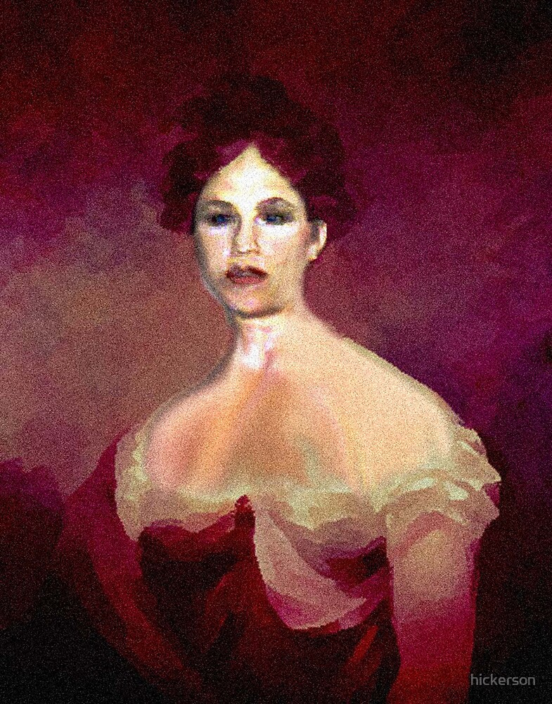 Lady In Red by hickerson