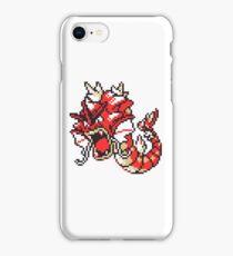 Red Gyrados GBC iPhone Case/Skin