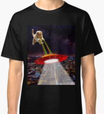 Space cat is attacking in star wars Classic T-Shirt