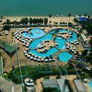 Pattaya Swimming pool by Frank Yuwono