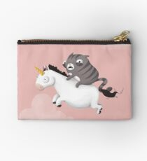 Cat and Unicorn Studio Pouch