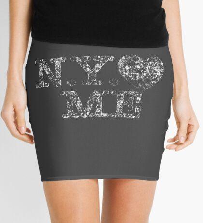 NY Love Me Retro Vintage Mini Skirt