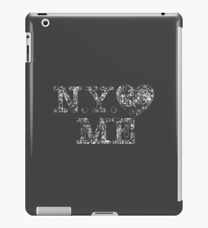 NY Love Me Retro Vintage iPad Case/Skin