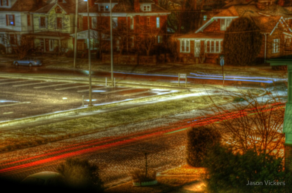 Long Exposure Street HDR by Jason Vickers