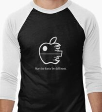 May The Force Be Different Men's Baseball ¾ T-Shirt