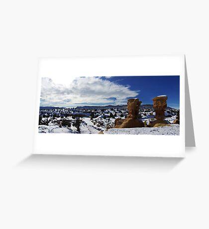 Devils Garden, Winter Greeting Card