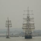 Tallships of yesteryear by powerball225