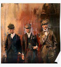 """Tommy, Arthur, Finn """" Peaky Blinders """" Poster"""