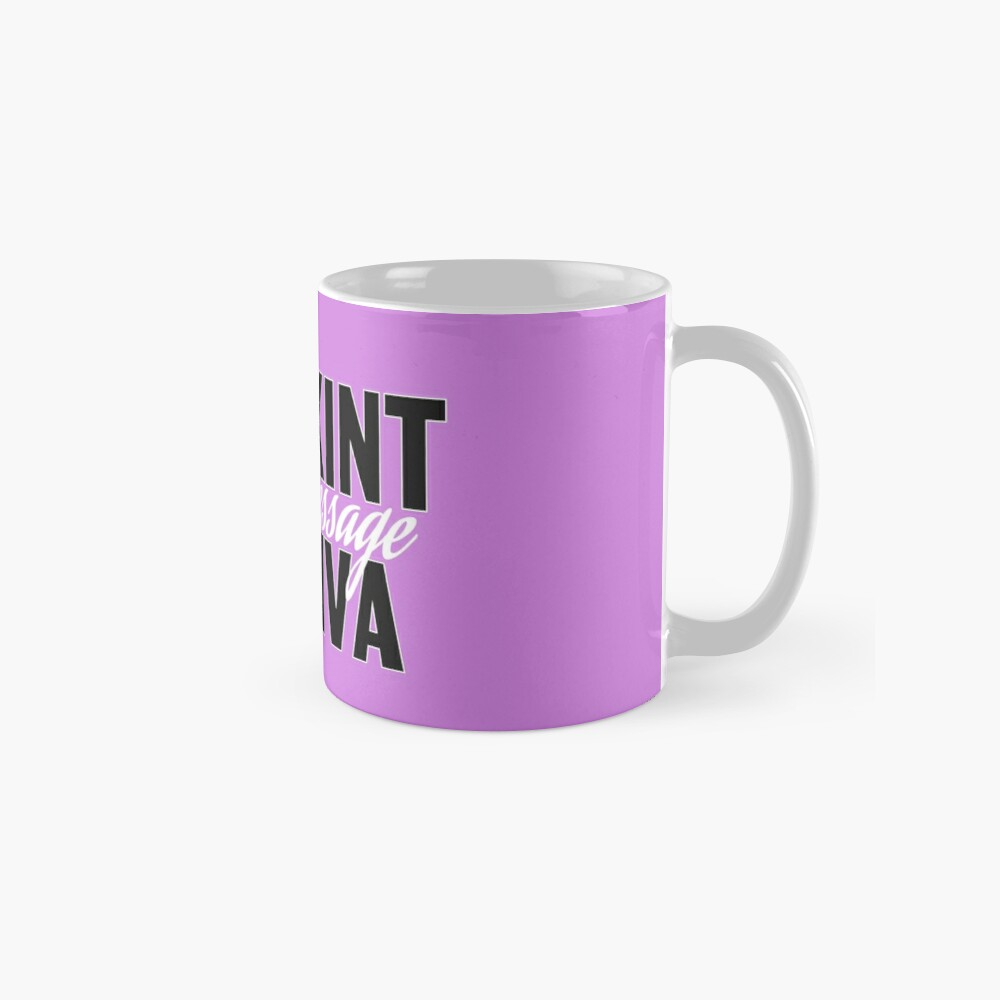 Skint Dressage Diva - Pink Standard Mug
