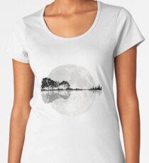 Moonlight Nature Guitar Women's Premium T-Shirt