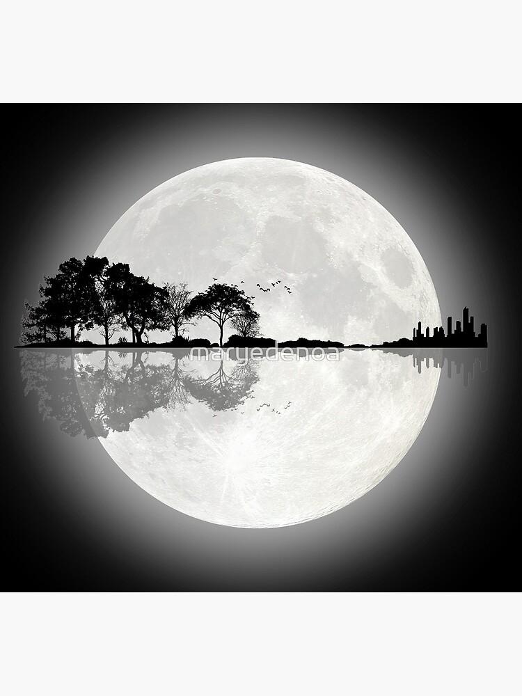 Moonlight Nature Guitar by maryedenoa