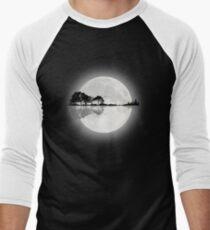 Moonlight Nature Guitar Men's Baseball ¾ T-Shirt