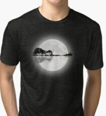 Camiseta de tejido mixto Guitarra Moonlight Nature