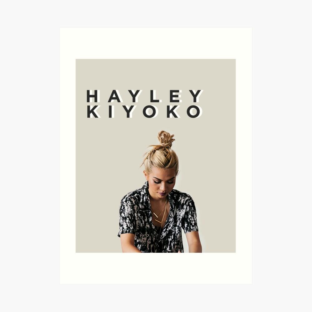 HAYLEY KIYOKO Art Print