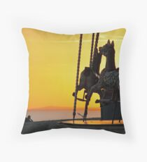 As the day closes Throw Pillow
