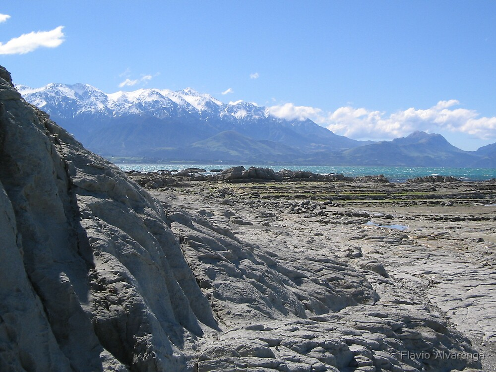 Kaikoura, South Island of New Zealand by Flavio  Alvarenga