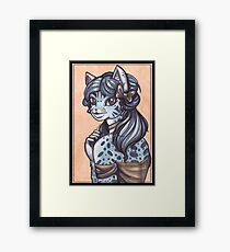 The Portrait of Lady Carissa Framed Print
