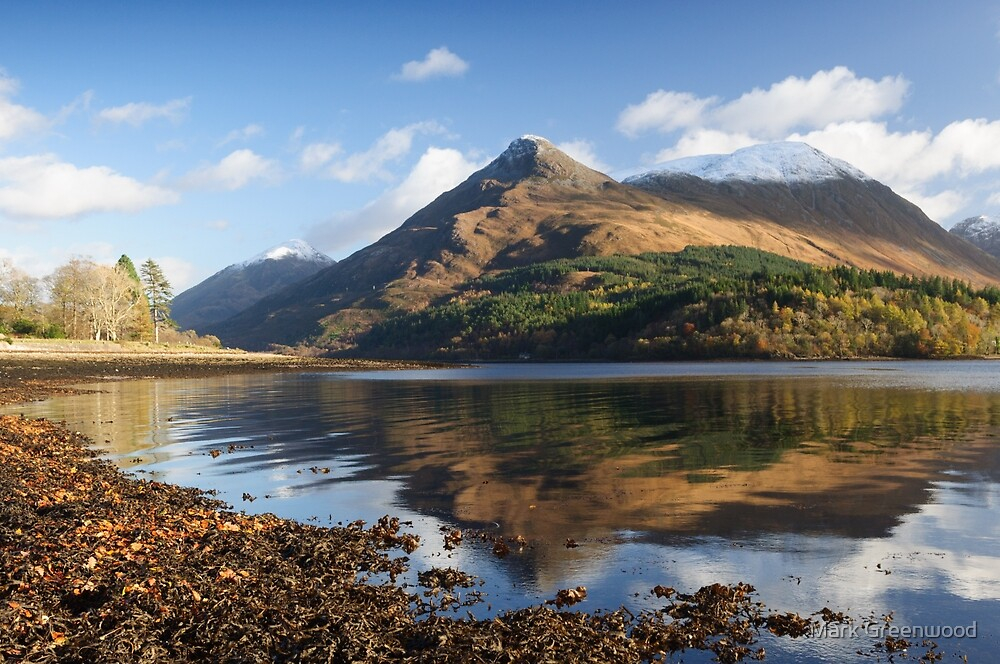 The Pap of Glencoe by Mark Greenwood