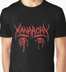 Lil Xan Anarchy Merchandise Graphic T-Shirt