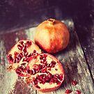 Pomegranate StillLife No 2  by Nicola  Pearson