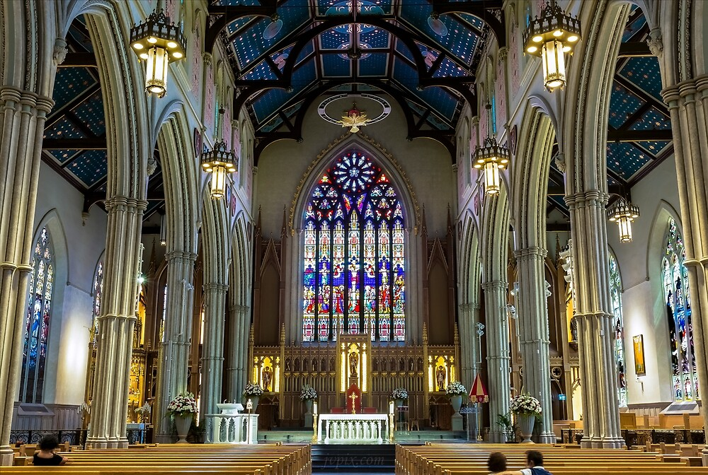 St. Michael's Cathedral 2 by John Velocci