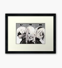 Nier Portrait Set Framed Print