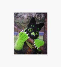 Furry Fursuit Ferox The Wolf Design Art Board