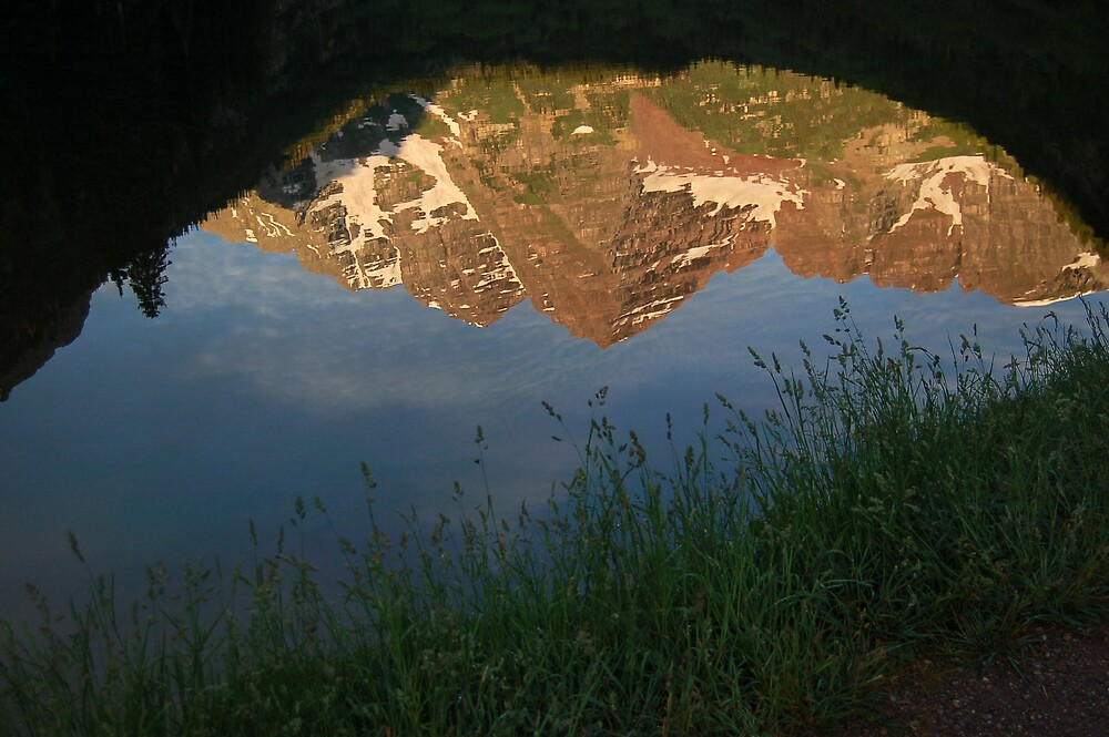 another mountain reflection by swimchk512