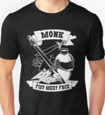 Monk Funny Design for Gamers, RPG, Roleplayers Unisex T-Shirt
