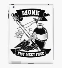 Monk Funny Design for Gamers, RPG, Roleplayers iPad Case/Skin