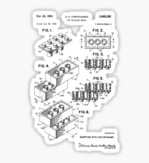 Lego Patent Sticker