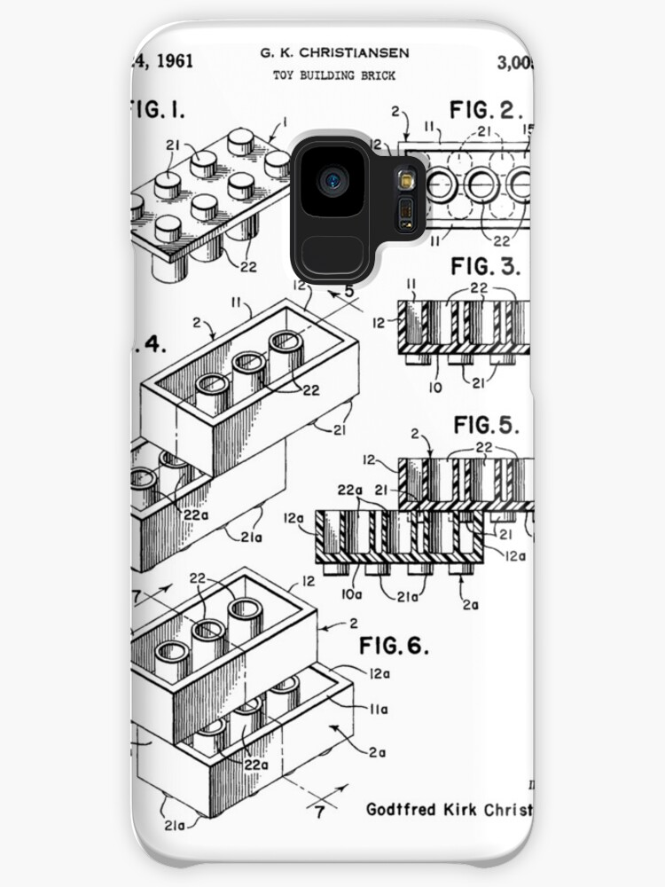 Lego Patent Cases Skins For Samsung Galaxy By Garci66