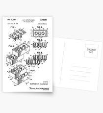 Lego Patent Postcards