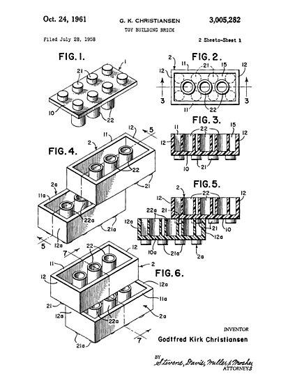 Lego Patent by garci66