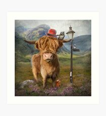 """Highland Cow"" Art Print"