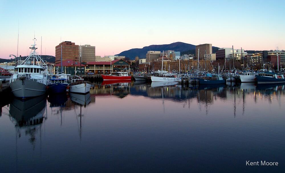 Hobart Docks...two by Kent Moore