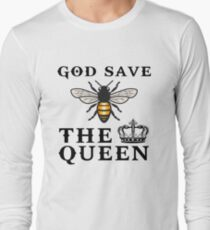 God save the queen bee Long Sleeve T-Shirt