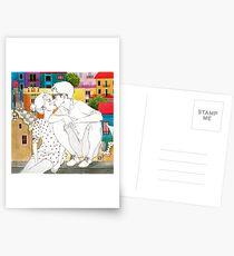 Barcelona Liebe Postkarten