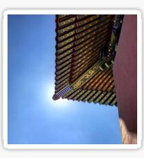 Forbidden City, China Sticker